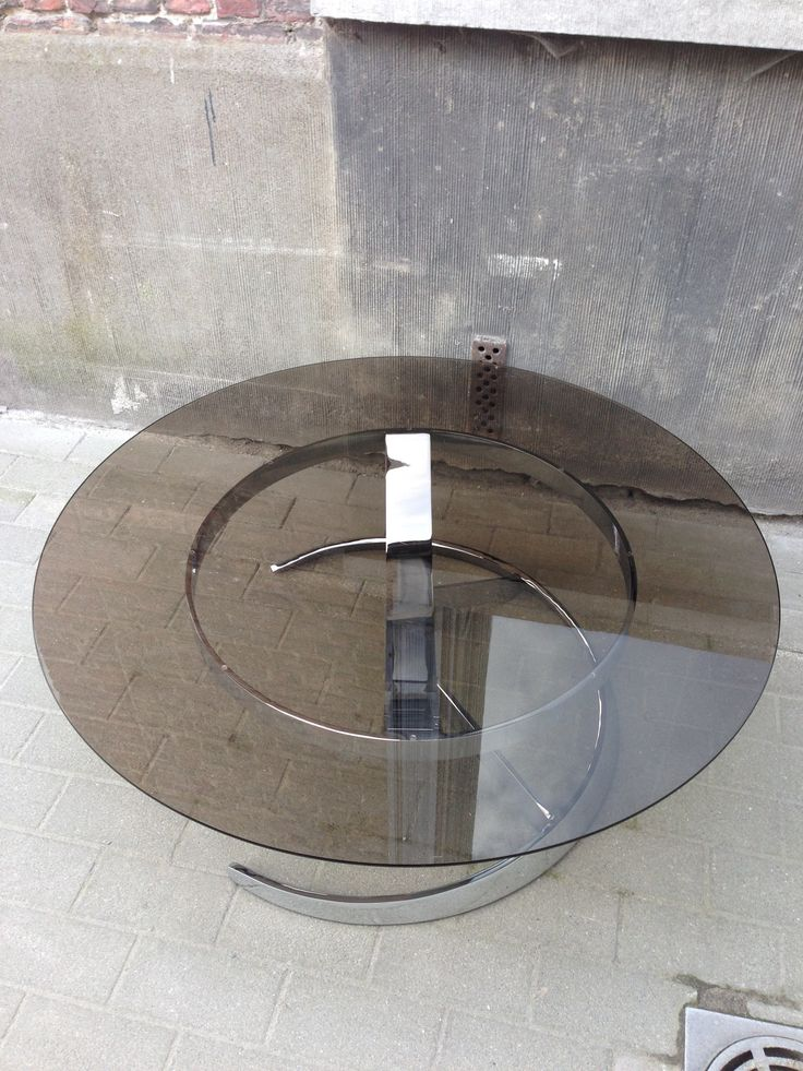 Rare Boris Tabacoff coffee table for Mobilier Modulaire Moderne 1970
