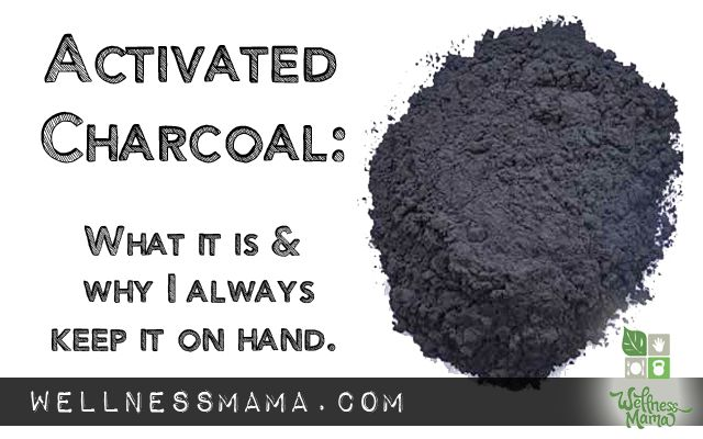 Activated charcoal is well known as a  antidote as it absorbs most organic toxins, chemicals and poisons before they can harm the body. Some Emergency Rooms administer large doses of activated charcoal for certain types of poisoning.