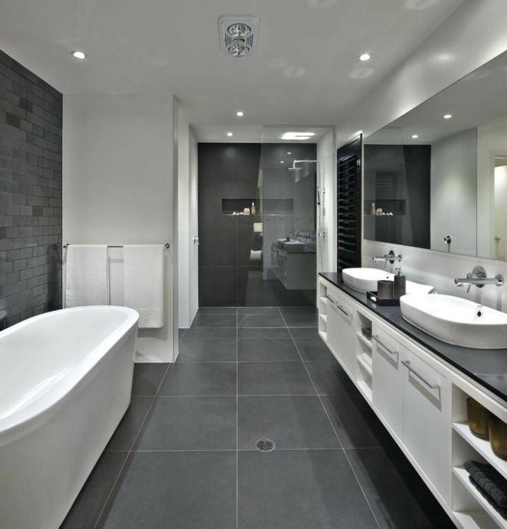 Black White Grey Bathroom Ideas Gray And White Bathroom Grey Bathroom Tiles Big Bathrooms