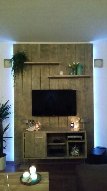 TV meubel steigerhout: