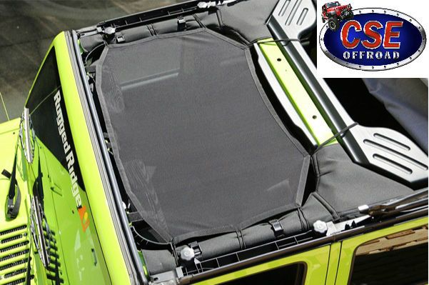 13579.04 Rugged Ridge Eclipse Sun Shade Jeep Wrangler JK 2007-2014 #RuggedRidge