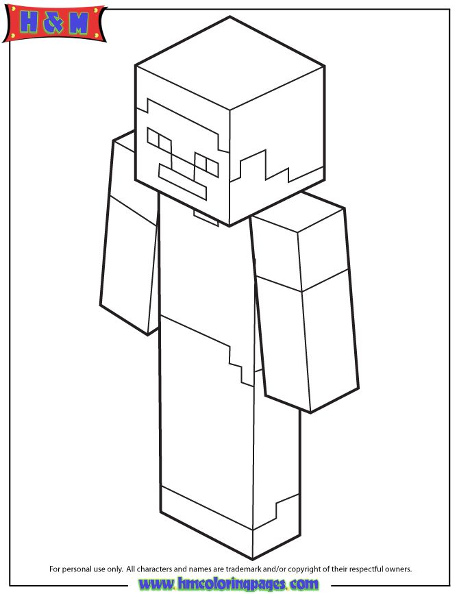 coloring pages minecraft stampylongnose hunger - photo#28