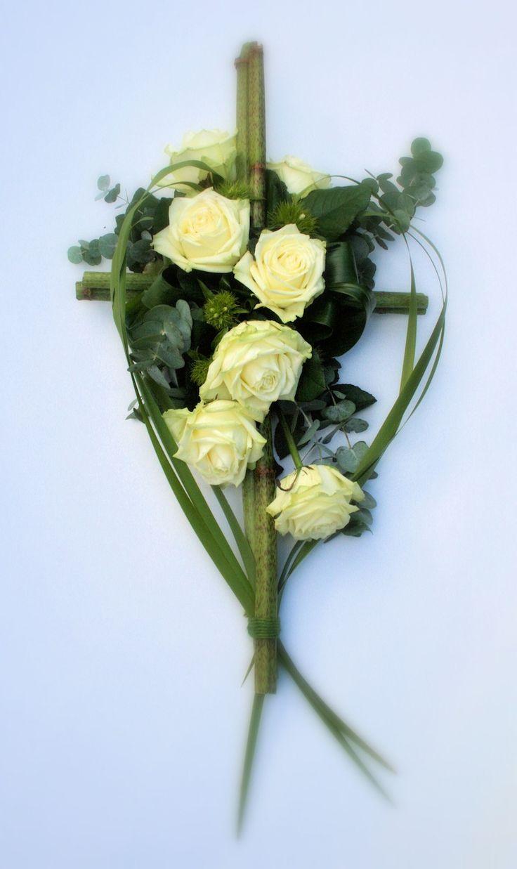 rouwbloemstukken