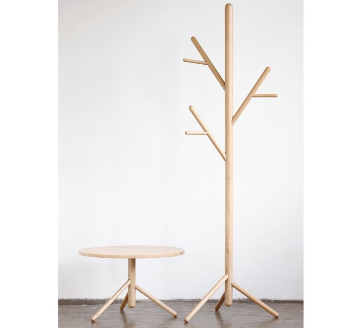 Stem Tree|Rock maple timber - either stained or coated in a hard-wearing polyurethane finish.  Size 550mm wide x 395mm deep x 1806mm high - See more at: http://designbythem.com/products/stem#sthash.FIujdALp.dpuf