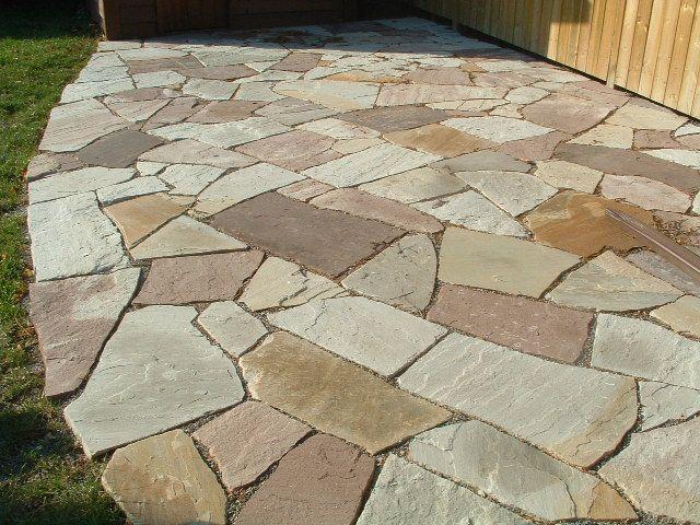 rock patio