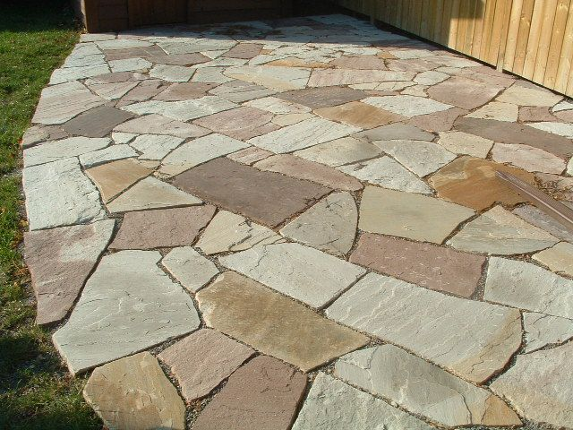 51 best flooring patterns images on pinterest | flagstone, patio ... - Outdoor Flooring Ideas Patio