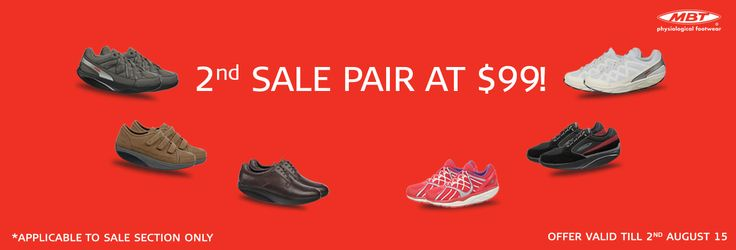 Buy 1 pair of MBT shoe and get 2nd Pair @ $99 Only!