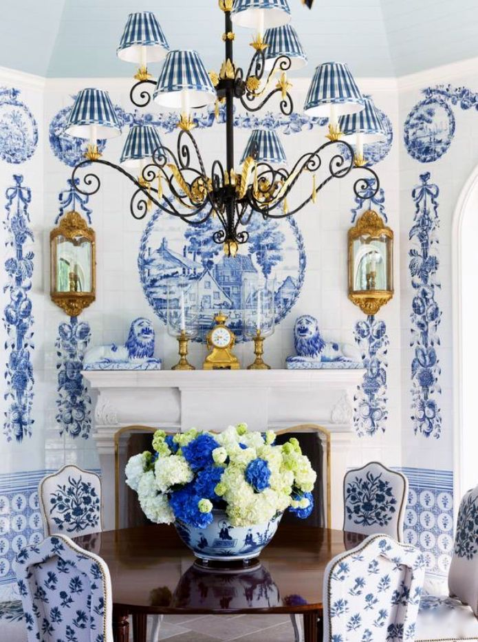 Blue And White Decor 1439 best blue and white porcelain images on pinterest | blue and