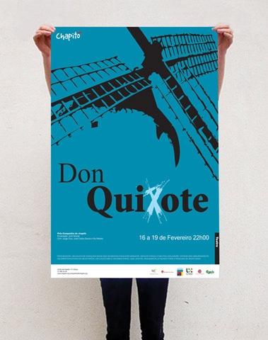 Proposals for posters - Chapitô - Lisbon by Juliana Freitas, via Behance