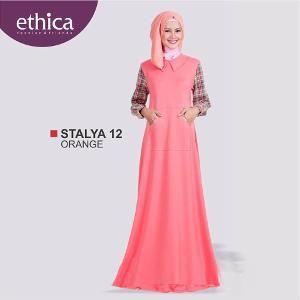 Baju Gamis Wanita Ethica STALYA 12 SALEM