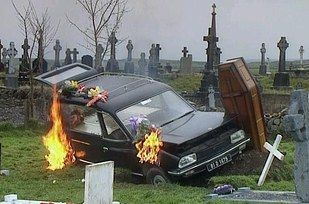 "When Dougal did a funeral. | 22 Times ""Father Ted"" Was Genuinely Hilarious"