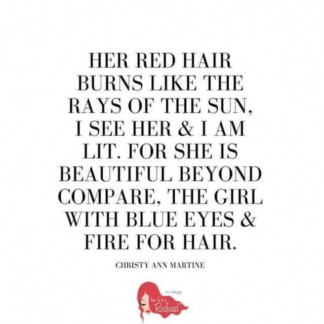 Redhead Blue Eyes Redhead Quotes Red Hair Quotes Redhead Facts