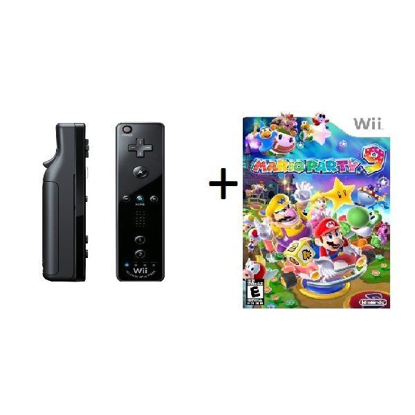 Nintendo - juego Mario Party 9   + Control Remoto Wii
