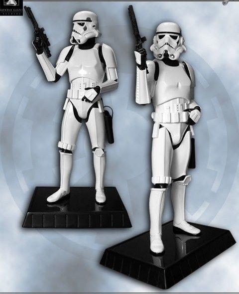 Gentle Giant Deluxe Stormtrooper Statue