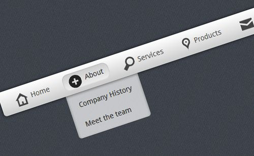 20 Pure CSS Navigation Bars and Menu Generators