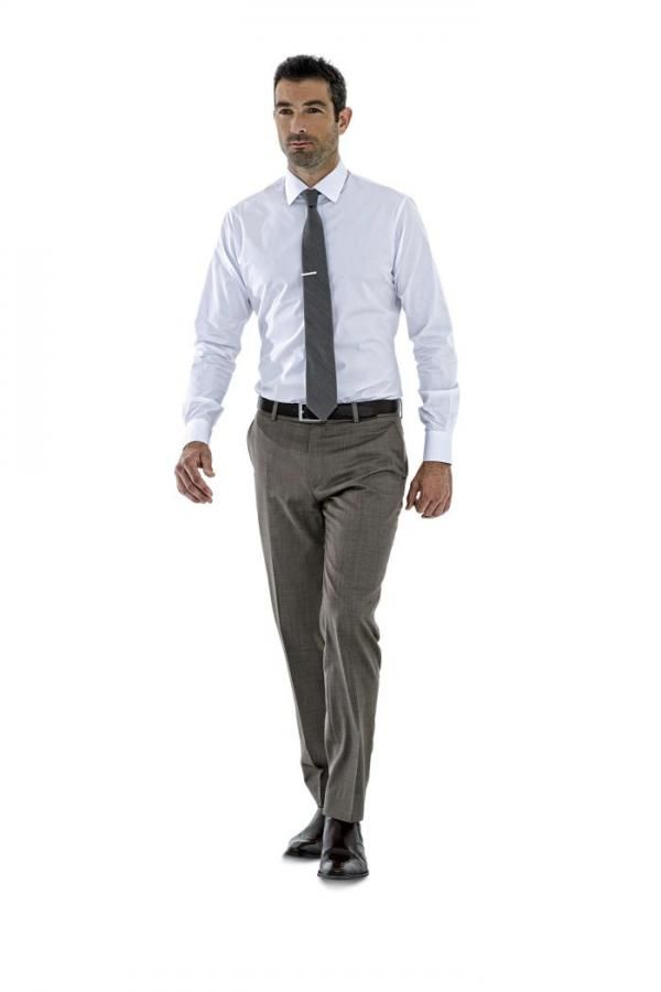 men's business shirt tailored made by Montagio Custom Tailoring