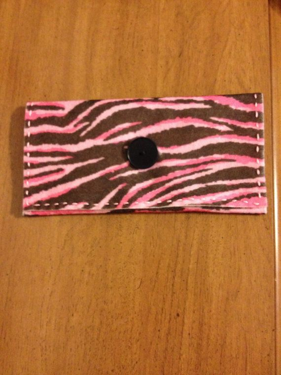 Felt Leopard Stripe Clutch Girls Teen Girls by littleshopoffelt