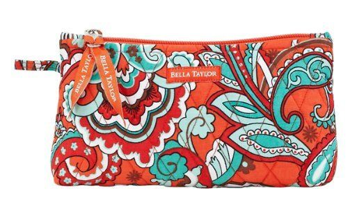 Bella Taylor Bali Bright Quilted Personal Pouch Victorian Heart Co., Inc.. $10.45