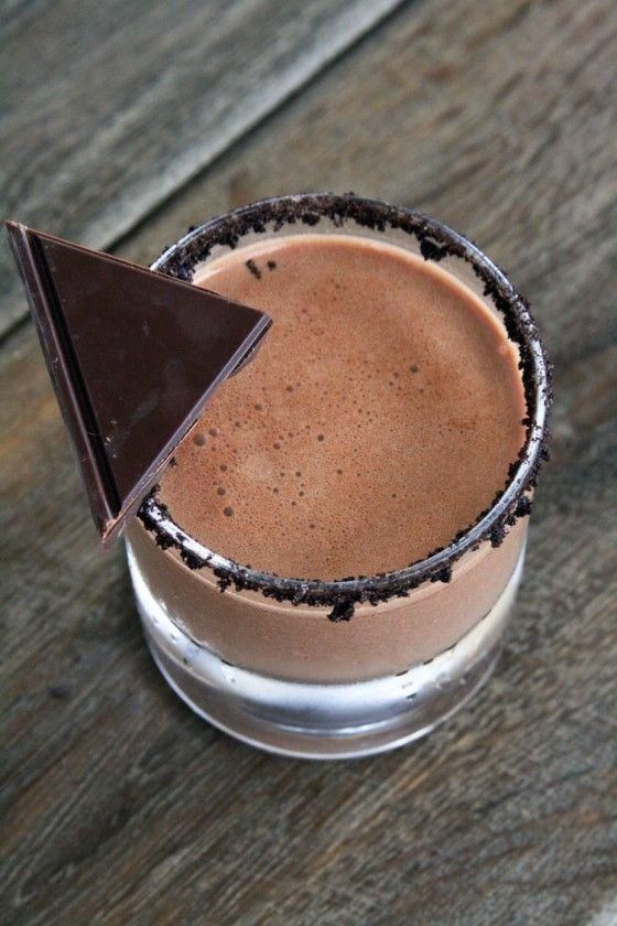 Chocolate smoothie. 1 cup almond milk. 1 cup Greek yogurt. 1/2 cup cacao. 1 little cup protein powder.