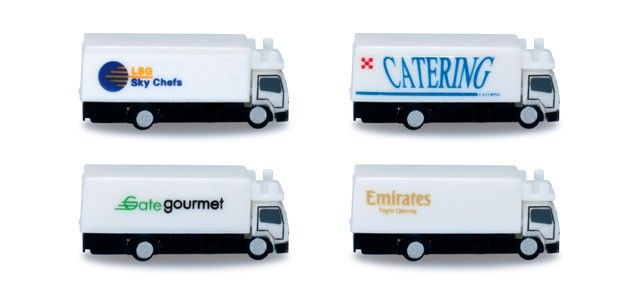 Scale 1:500 catering trucks Herpa 520577