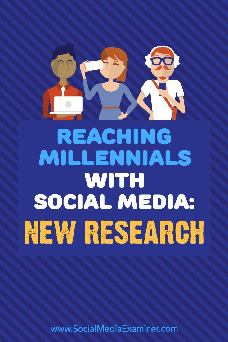 Are Millennials Part Of Your Customer Base? Wondering How Best To Reach  Them On Social