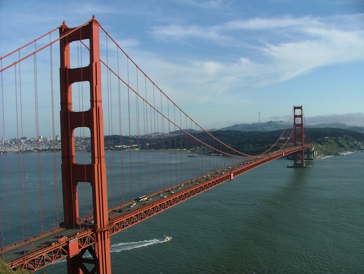 Golden Gate Bridge. See you in two months.