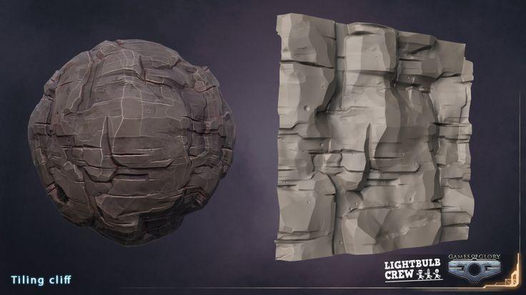 GOG _ tiling cliff texture, Kim Fournel on ArtStation at https://www.artstation.com/artwork/gog-_-tiling-cliff-texture