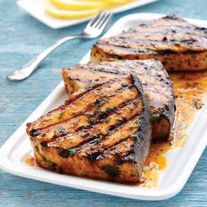 Moroccan Grilled Swordfish Recipe | Grill | Hannaford