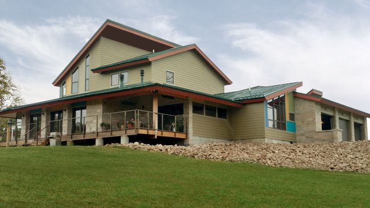Shelbyville, Indiana : Quaker Residential H600 Windows for a clean and modern looking home