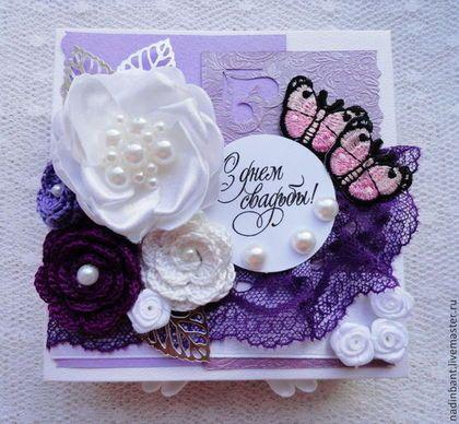 Коробочка для денег Сиреневые сны - сиреневый,фиолетовый,темно-фиолетовый