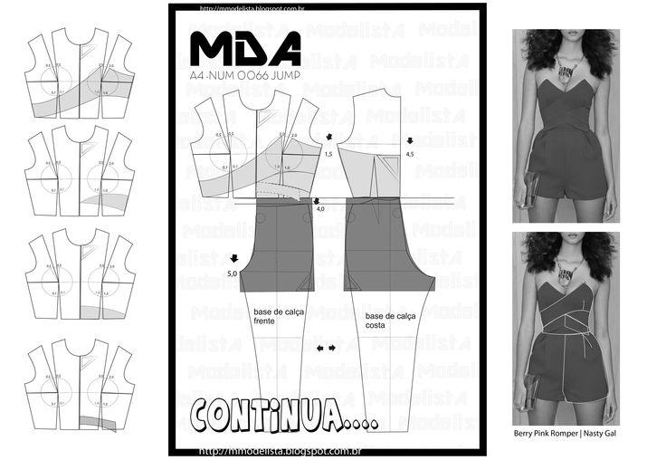 domingo, 3 de maio de 2015 A4 NUMER 0066 JUMP  HISTÓRIA DO MACACÃO Surgiu em 1791 e era feito geralmente de linho ou algodão resistente. Peça de caráter utilitário, muito usada por homens, começou a ser usada durante a 1ª Guerra Mundial (1916) por mulheres na Inglaterra, quando elas partiram para os trabalhos nas fábricas. Nos anos 20 se tornou muito comum seu uso por mecânicos, nos Estados Unidos como roupa de proteção…