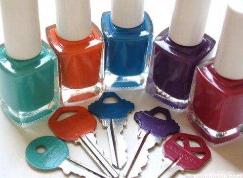 3 usos diferentes para el barniz de uñas
