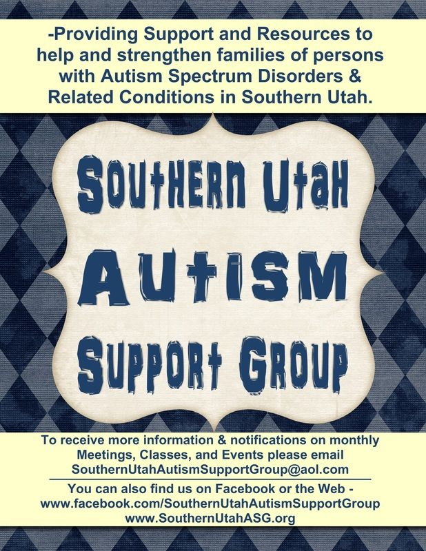 Southern Utah ASG - Southern Utah Autism Support Group