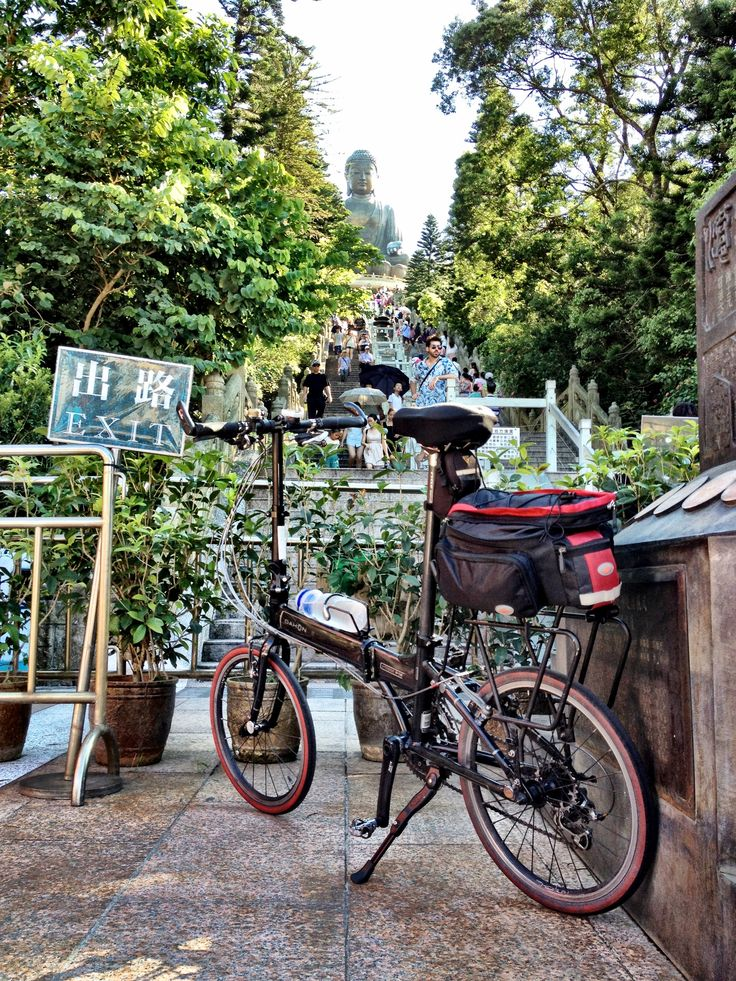 Bike meets Buddha