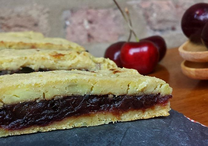 Guest Post by Alaena Haber - Cherry Pie Bars (Autoimmune Protocol Friendly) - The Paleo Mom