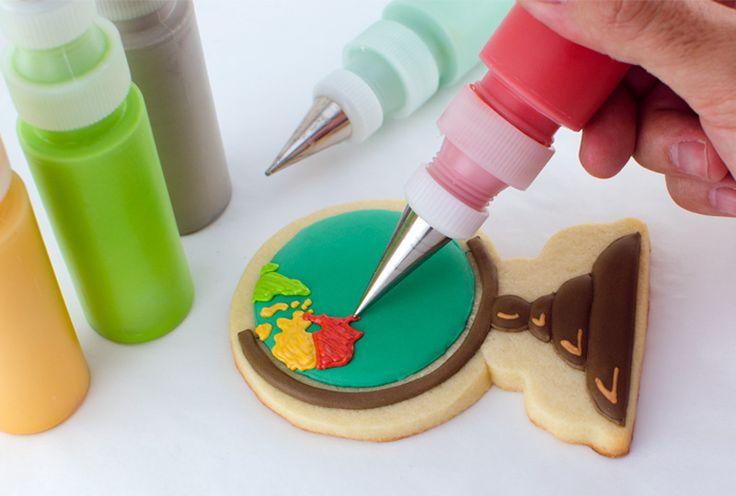 Globe Cookies Tutorial – Semi Sweet Designs