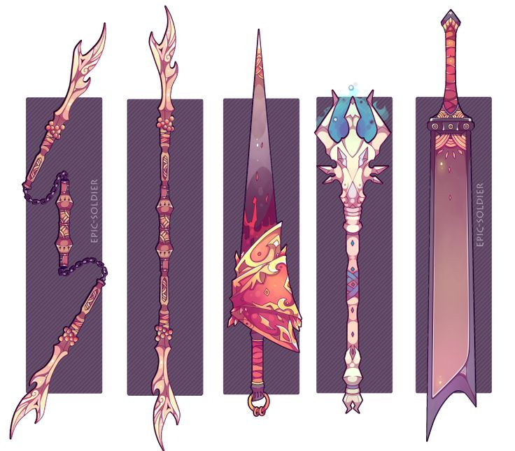 Weapon commission 38 by Epic-Soldier.deviantart.com on @DeviantArt