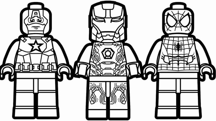 27+ Beautiful Picture of Lego Spiderman Coloring Pages ...