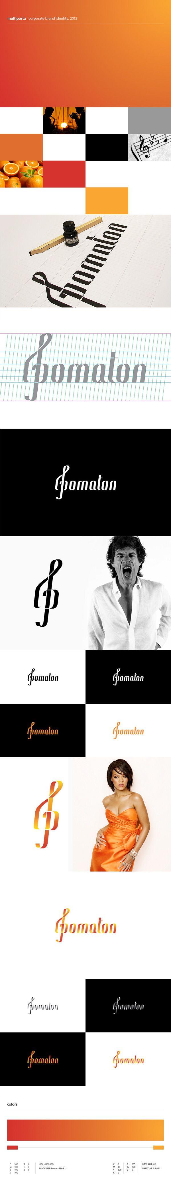Logo design for Pomaton