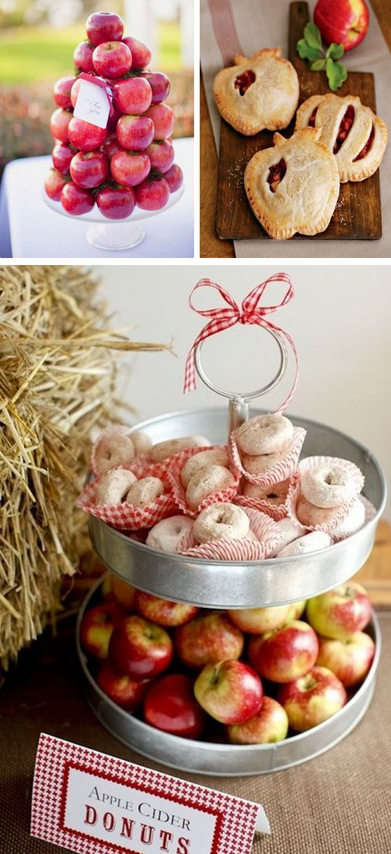 DIY Fall Wedding Ideas: Apple Picking!  http://www.theperfectpalette.com/2014/09/apple-orchard-wedding-inspiration.html