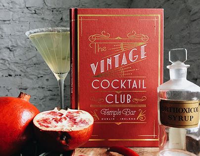 We designed the menus for two Dublin based cocktail venues, The Vintage Cocktail Club and Peruke & Periwig. The VCC menu design is based on an old cocktail book named The Savoy Cocktail which was produced by Harry Craddock, one of the most famous bartende…