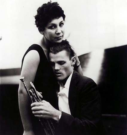 halema and chet baker. credit: william claxton