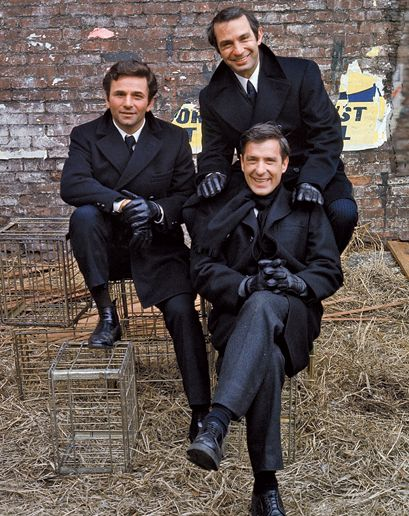 The Cassavetes Crew    From left: Peter Falk, Ben Gazzara, and John Cassavetes on the set of the 1970 film Husbands.