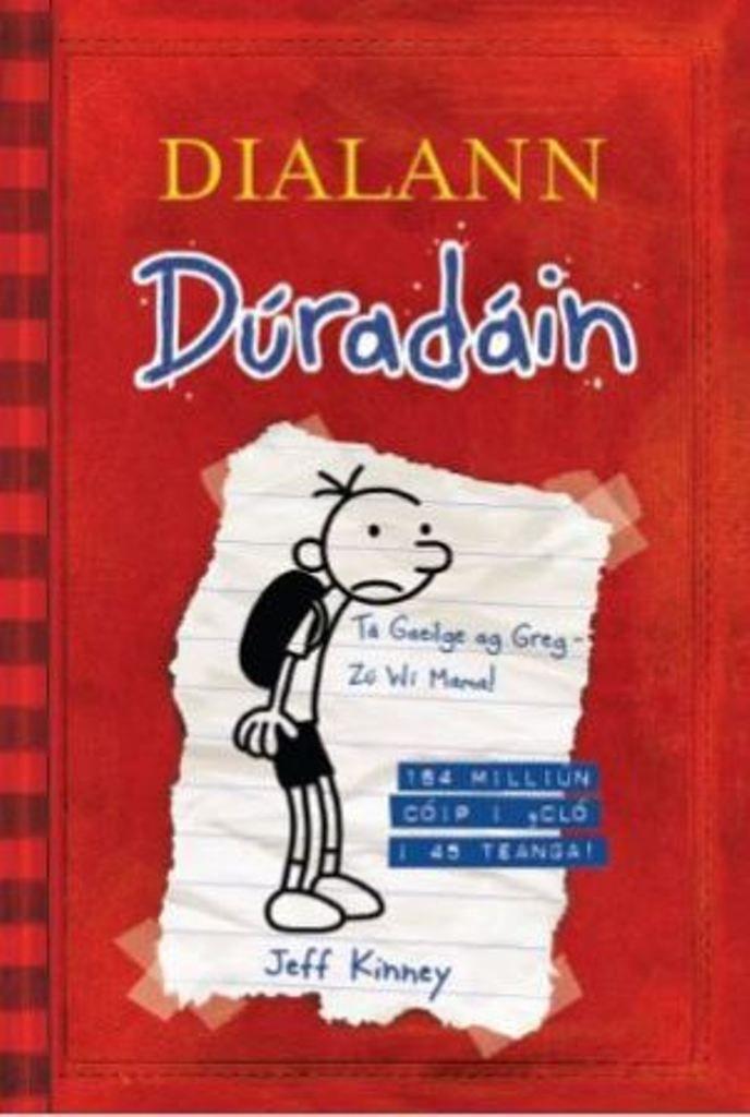 Diary of a Wimpy Kid in Irish #wimpykid #gaeilge #irish Dialann Dúradáin Jeff Kinney