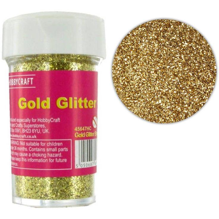 Gold Glitter Shaker 20g