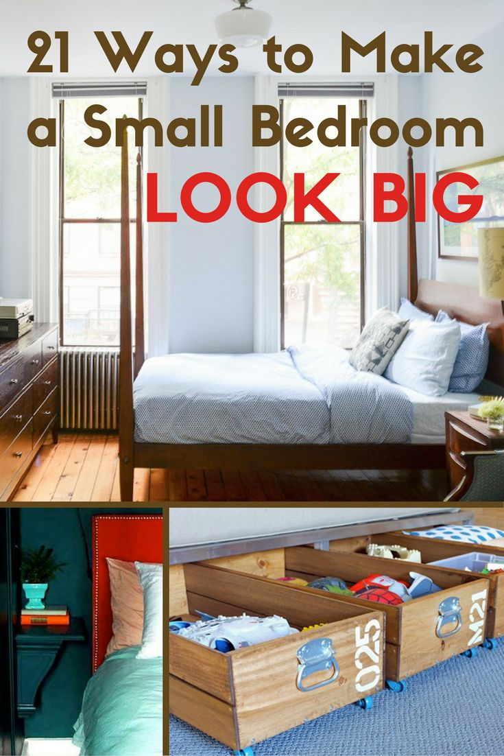 21 Ways to Make a Small Bedroom Big