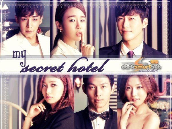 MY SECRET HOTEL: Yoo In Na (inexpressiva), Jin Yi Han e Nam Gumg Min. Este filme tentou ser romance, comédia, suspense, achei fraco