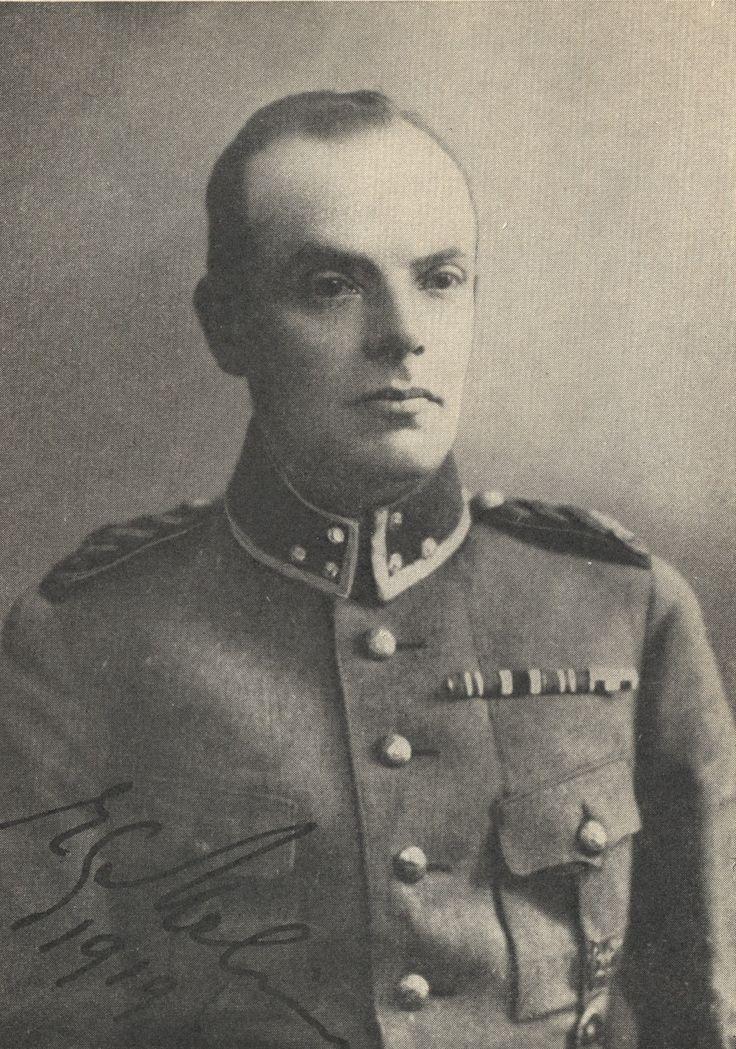 Jääkärieversti Erik Gunnar Melin.