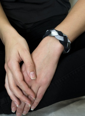 Armbandet Night Silver