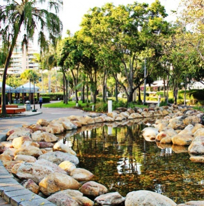 Brisbane's Southbank Parklands. The best of Brisbane!